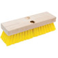 Yellow Plastic Deck Brush Image