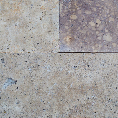 Noche Travertine Pre-cut Flooring Image